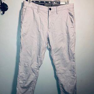Armani Exchange MENS gray Slim pants
